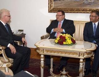 Reception at the President of Republic of Croatia (November 2011)