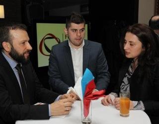 Reception with Prime Minister of FBiH Mr. Fadil Novalić (February 2016)