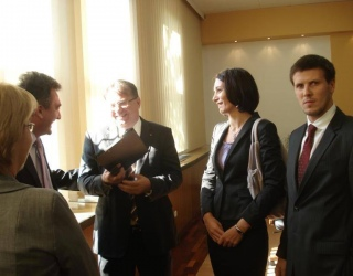 Signing MoU with FBiH Government (October 2011)